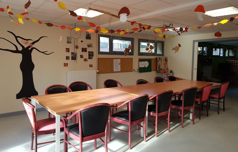 Salle d'activités dédiée au PASA à l'Ehpad Résidence du Parc