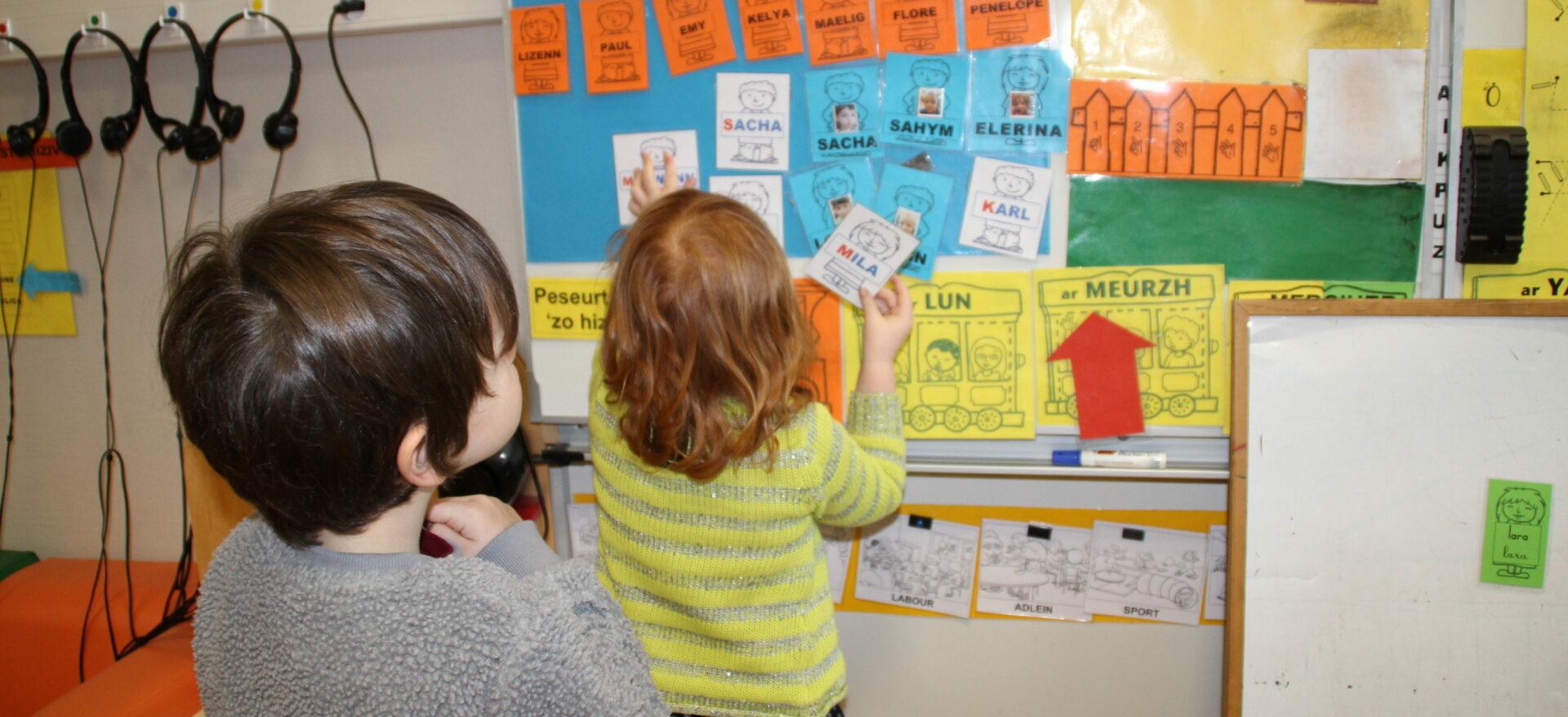 Classe bilingue école Julie Daubié